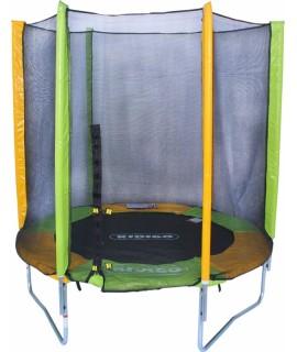 Батут KIDIGO с защитной сеткой 183 см