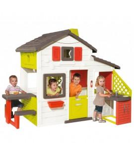 Игровой домик Smoby для друзей с кухней 810200