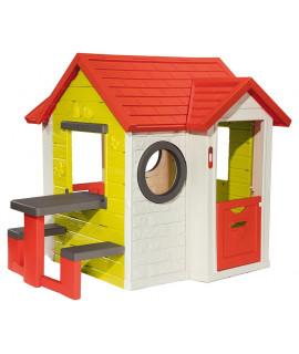 Игровой домик Smoby со столом 810401