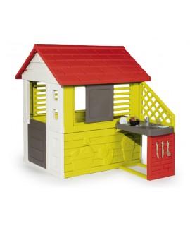 Игровой домик Smoby с кухней 810702