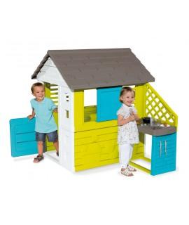 Игровой домик Smoby с кухней 810703