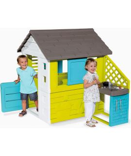 Игровой домик Smoby с кухней 810711