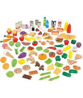Набор еды Вкусное удовольствие 115 элементов Kidkraft 63330
