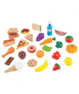 Набор еды Вкусное удовольствие 30 элементов Kidkraft 63509