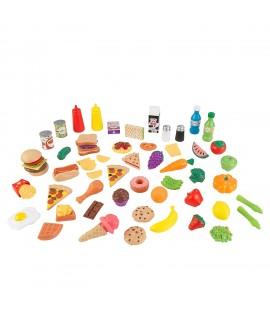 Набор еды Вкусное удовольствие 65 элементов Kidkraft 63510