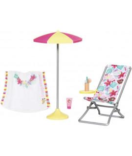 Пляжный набор для Baby Born Zapf Creation 829264