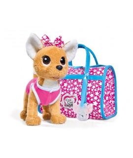 Плюшевая собачка Chi-Chi Love Звездный стиль с сумочкой 5893115