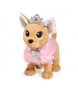 Плюшевая собачка Chi-Chi Love Принцесса с пушистой сумочкой 5893126