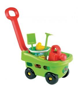 Тележка садовника с аксессуарами - Ecoiffier 0344