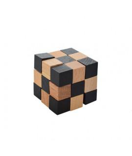 Головоломка MD 2056 деревянная Кубик змейка