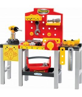 Верстак детский раскладной с инструментами ecoiffier 2350