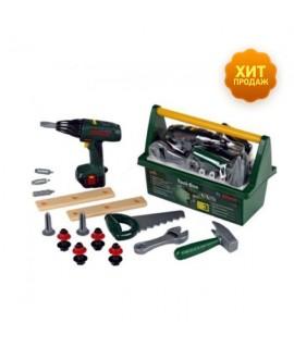 Набор инструментов в ящике с шуруповертом Klein BOSCH 8429