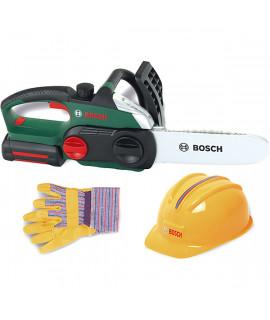 Бензопила с каской и перчатками Klein BOSCH 8456