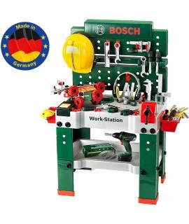 Верстак детский Мега Bosch Klein 8485 из 150 элементов