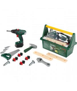 Набор инструментов в ящике с шуруповертом Klein BOSCH 8520