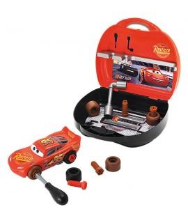 Чемодан с авто инcтрументами + машинка Cars Smoby 360141