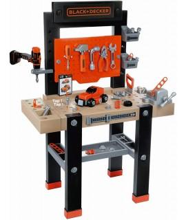 Верстак детский с инструментами Black & Decker Smoby 360701