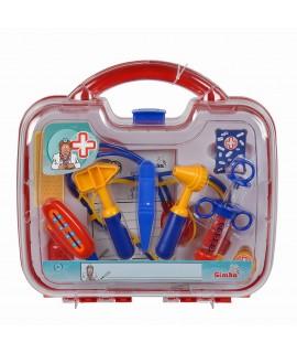 Игровой набор доктора в пластиковом чемодане - Simba