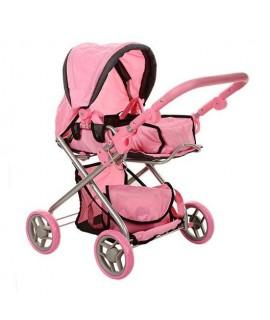 Коляска для кукол Melogo 9379 розовый