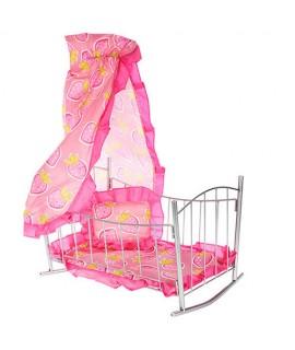 Кроватка для кукол Melogo (Metr+) 9349
