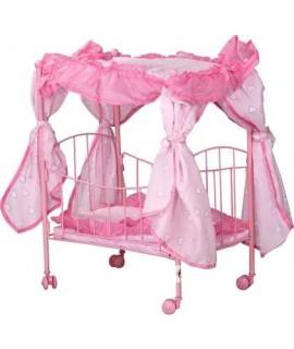 Кроватка для кукол Melogo (Metr+) 9350/015 розовый