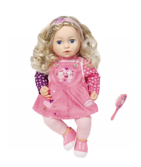 Кукла пупс Baby Annabell София с длинными волосами Zapf Creation 700648
