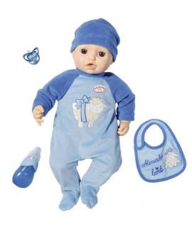 Кукла пупс интерактивный Baby Annabel Alexander с мимикой Zapf Creation 701898