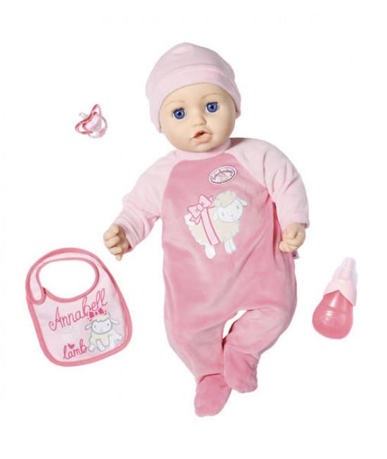 Кукла пупс интерактивный Baby Annabel с мимикой Zapf Creation 794999