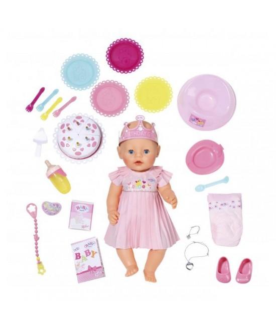 Кукла Baby Born Веселый День Рождения с аксессуарами Zapf Creation 824054
