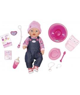 Кукла Baby Born Джинсовый стиль Zapf Creation 824238