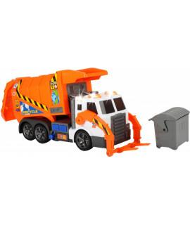 Мусоровоз с контейнером и подъемником Dickie Toys 1137000