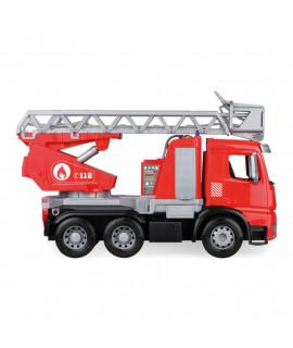 Пожарная машина с лестницей Lena Worxx Mercedes-Benz Arocs 04615 48 см