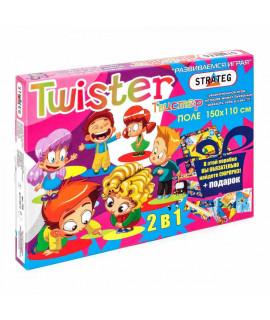 Настольная игра Твистер Strateg 11256 русская версия