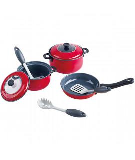 Игровой набор металлической посуды Playgo 6836