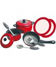Игровой набор металлической посуды Playgo 6950