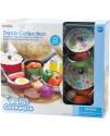 Игровой набор посуды с продуктами Playgo 6988