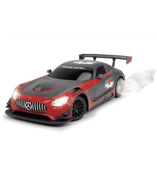 Машинка Mercedes-AMG GT3 на радиоуправлении, с дымом