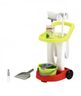 Детская тележка для уборки ecoiffier