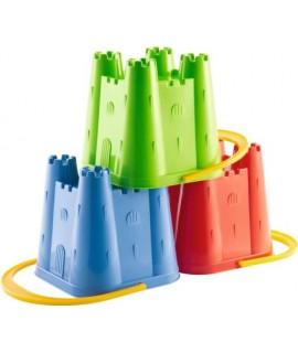 Ведерко башня 15 см, 3 цвета - Ecoiffier 0610