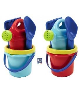 Набор для игры с песком 5 аксессуаров, 23см, 2 цвета - Ecoiffier 0715