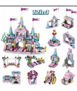 Конструктор 633012 Замок принцессы 12 в 1