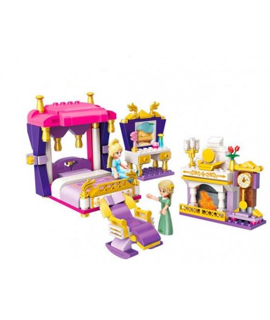 Конструктор Brick Qman Спальня принцессы 2601B