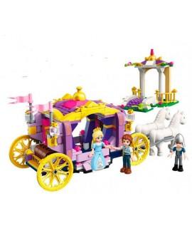 Конструктор Brick Qman Карета принцессы 2605