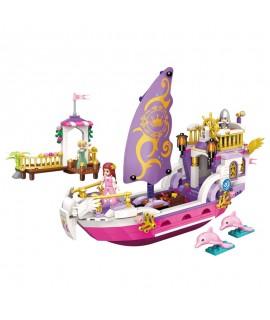 Конструктор Brick Qman Корабль принцессы 2609