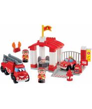 Конструктор ecoiffier Пожарная станция 3014