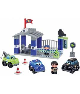 Конструктор ecoiffier Полицейская станция с фигурками