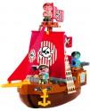 Конструктор ecoiffier Корабль с пиратами 3023