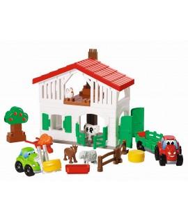 Конструктор ecoiffier Большой дом на ферме 3032