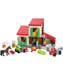 Конструктор ecoiffier Ферма с животными 3044