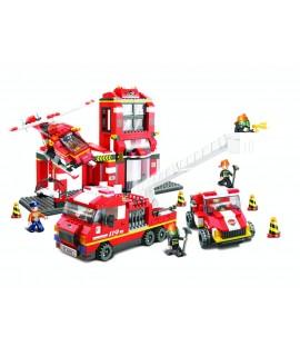 Конструктор Sluban Пожарная часть M38 B0227